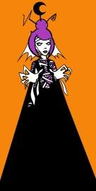 April Skullpop-Halloween bride