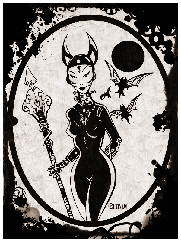 Basteina Robotic Vampire Queen Vixen by Optivion