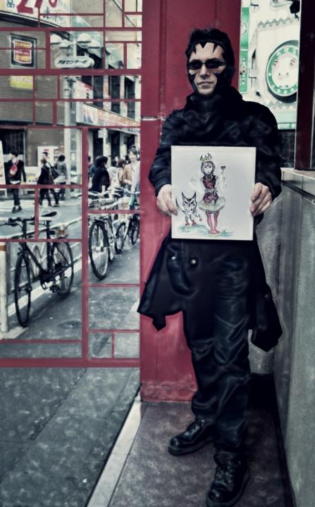 optivion-redqueen-suit artshow tokyo