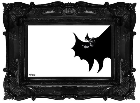 Optivion -THE BATMAN framed