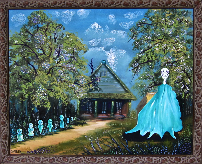 Optivion- Oil Painting -Protecting the magic