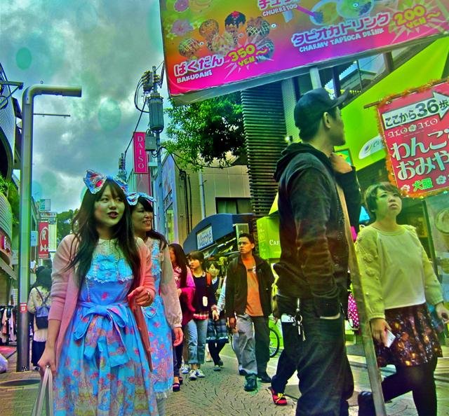 Optivion - The Harajuku Halloween Girls