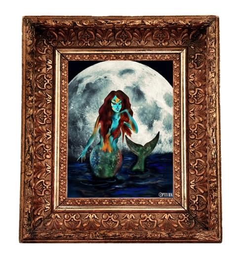 Optivion -The last Mermaid in frame