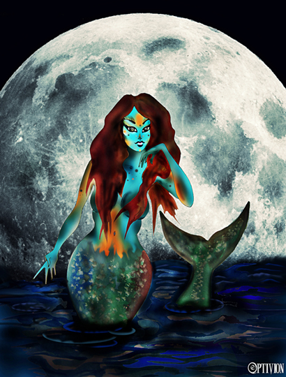 OPTIVION - The Moon and The Last Mermaid (Small)
