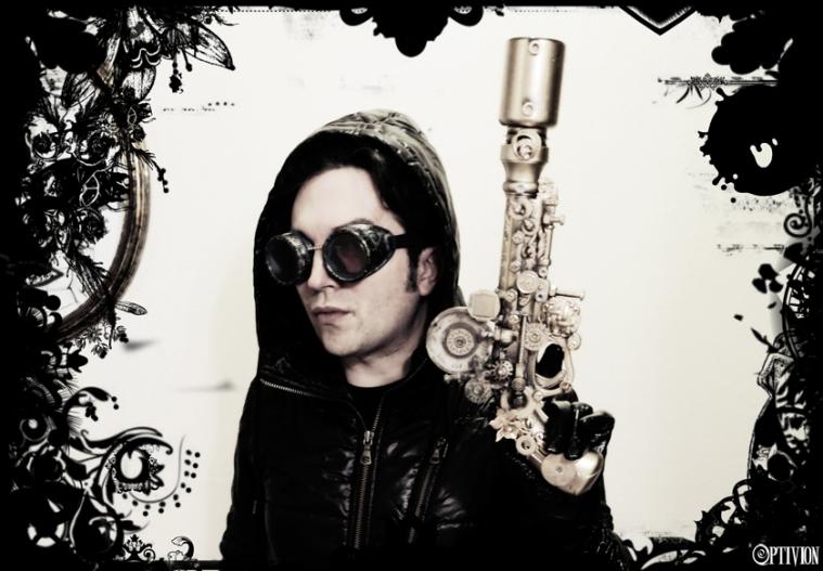 Optivion - Optigun #steampunk art gun