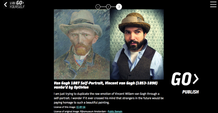 Optivion - Vincent van Gogh portrait