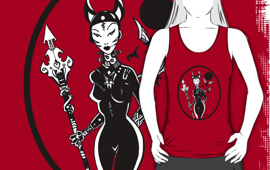 Vampire fashion tank top - optivion