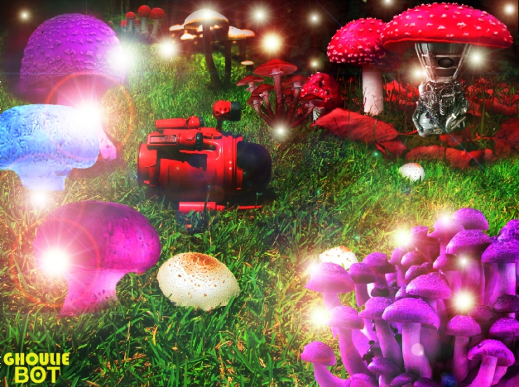 Ghoulie bot - Mushroon Planet by Optivion©