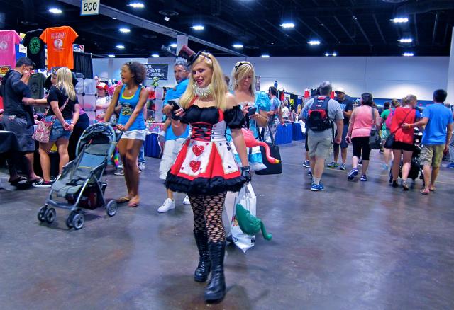 Florida Tampa Bay Comic Con - 800 texts