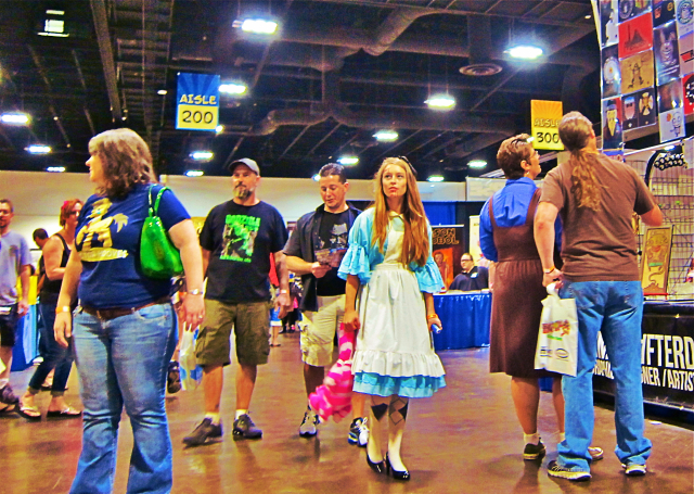 Florida Tampa Bay Comic Con - Alice is lost copy