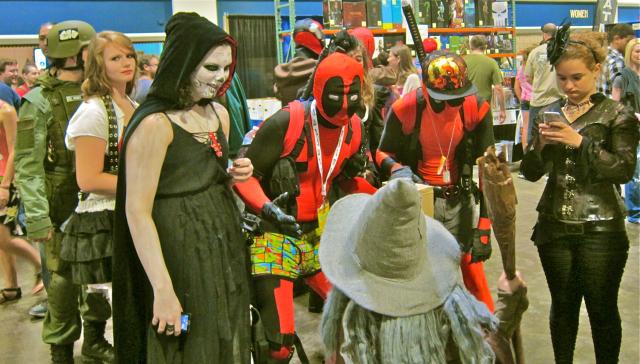 Florida Tampa Bay Comic Con - hello little wizard copy