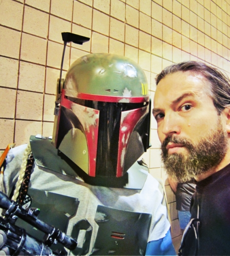 Florida Tampa Bay Comic Con - Hello starwars friend