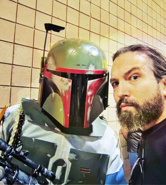 Florida Tampa Bay Comic Con - Hello starwars friend