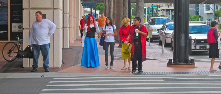 Florida Tampa Bay Comic Con - hello!