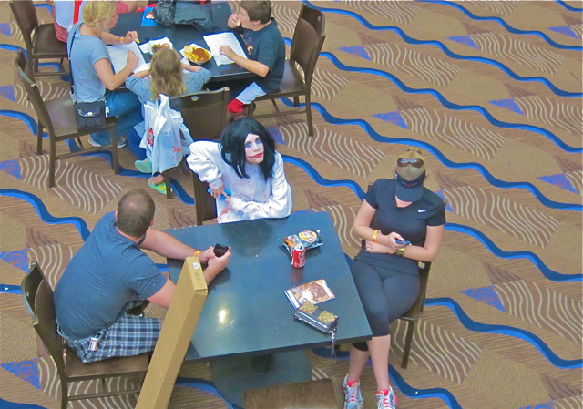 Florida Tampa Bay Comic Con - Joker look copy