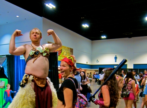 Florida Tampa Bay Comic Con - Knock him Down copy