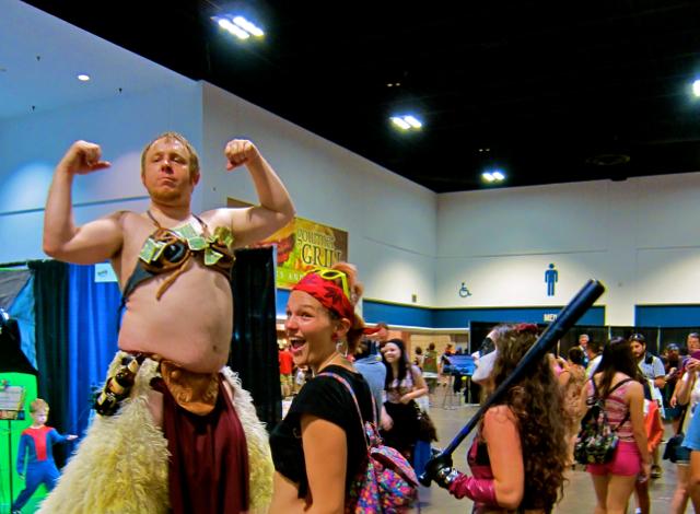 Florida Tampa Bay Comic Con - Knock him Down copy