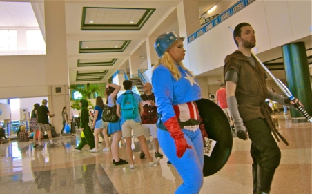 Florida Tampa Bay Comic Con - La Capitana Americana