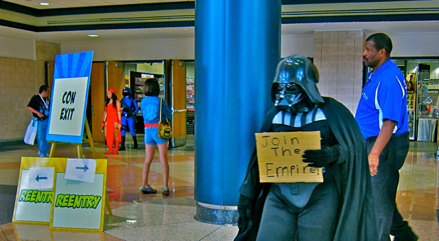 Florida Tampa Bay Comic Con - Lil Darth Vader