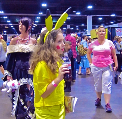 Florida Tampa Bay Comic Con - Pikachu Diet