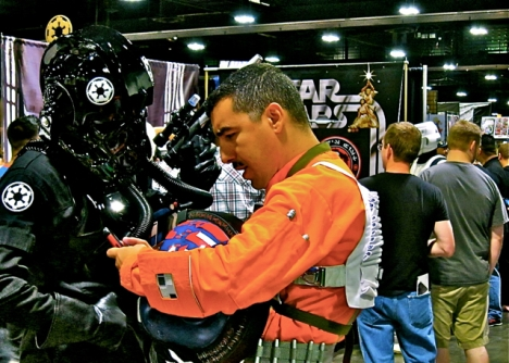 Florida Tampa Bay Comic Con - Starwars? Call me baby.