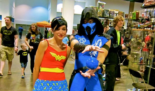 Florida Tampa Bay Comic Con - Sub Zero