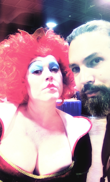 Florida Tampa Bay Comic Con -The Queen in Alice in Wonderland - The Red Queen copy
