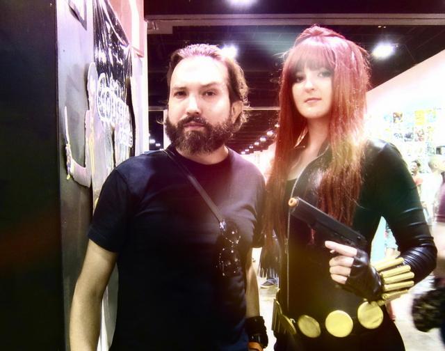 Florida Tampa Bay Comic Con - The Sexy Phoenix and optivion
