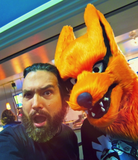 Florida The Tampa Bay Comic Con - hungry like a WereWolf
