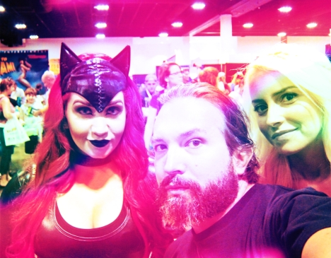 Florida The Tampa Bay Comic Con - The Catwoman, optivion and blond