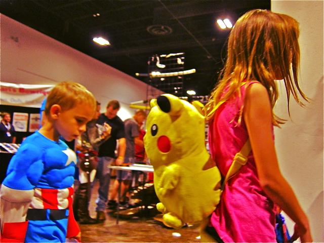 The Florida Tampa Bay Comic Con - cheer up captain