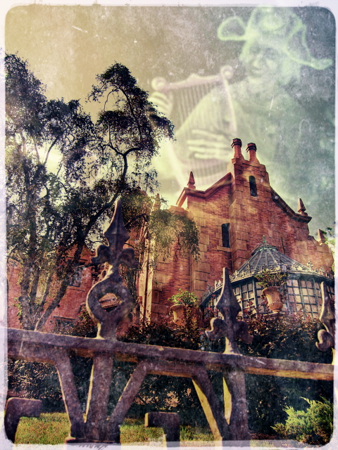 The Optivion -Music at The Haunted Mansion - Walt Disney World