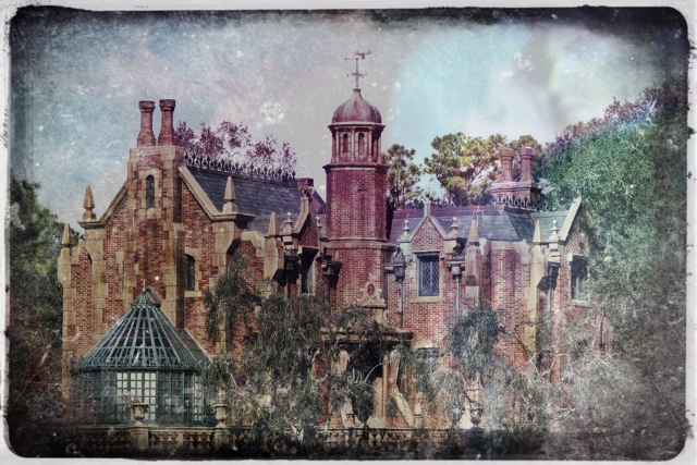 The Optivion - The Haunted Mansion - Walt Disney World