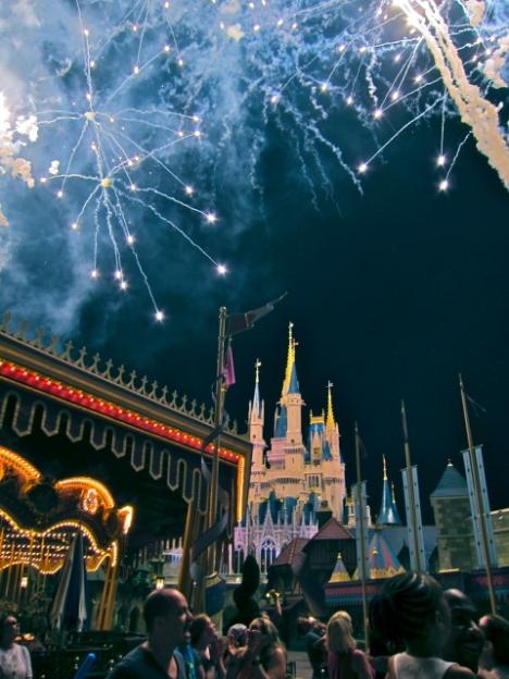 Optivion -Disney Fireworks