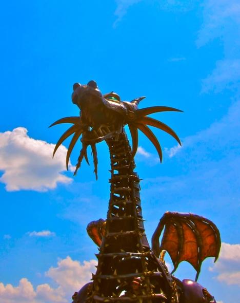 Optivion - disney maleficent dragon