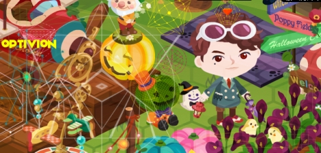 optivion Halloween Video Game