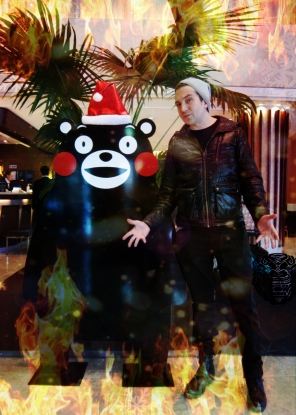 Optivion - A Christmas Fire Kumamon #japan