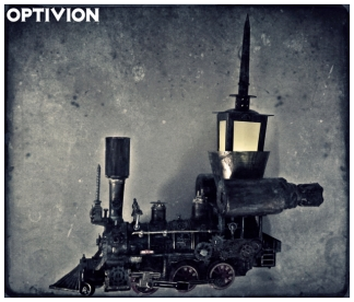 Optivion - all aboard (The SteamPunk Train)
