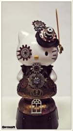 Optivion - Hello Kitty Steampunk Art