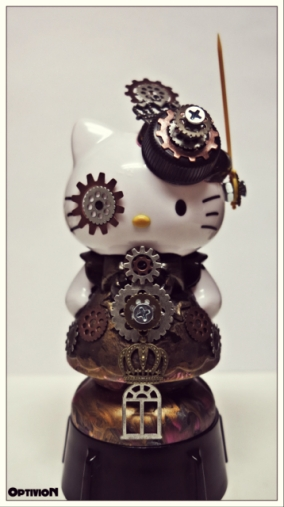 Optivion - Hello Kitty Steampunk Art