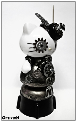 Optivion - Hello Kitty Steampunk customized