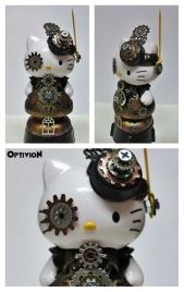 Optivion - Hello Kitty Steampunk Sculpture