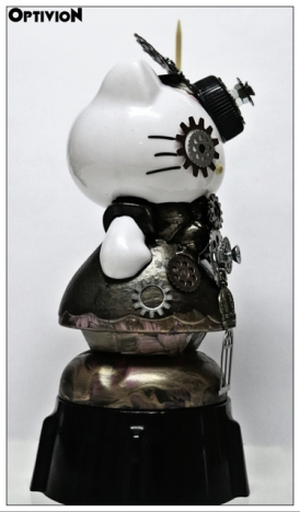Optivion - HelloKitty Steampunk #art