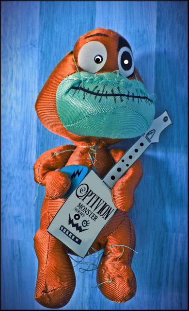 Optivion - The Monster Guitar series Art