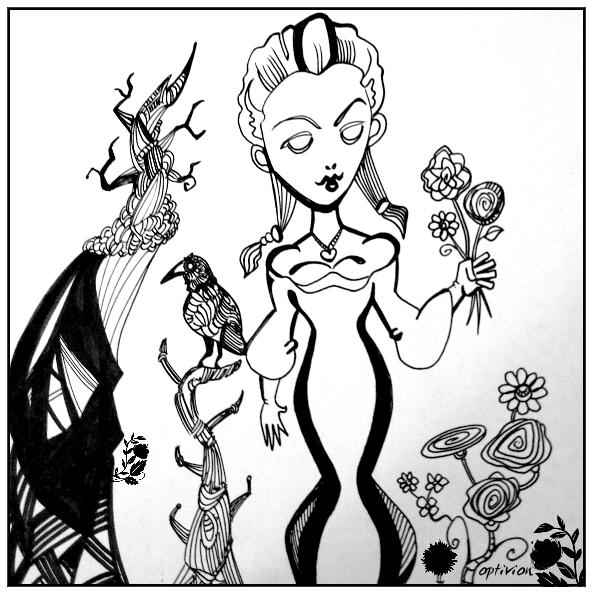 Optivion - 'sleepy hollow'  Valentines day 'Lady Van Tassel'
