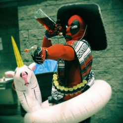 Optivion - dead pool megacon