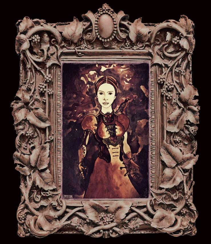 optivion - Emily Dickinson steampunk art.jpg