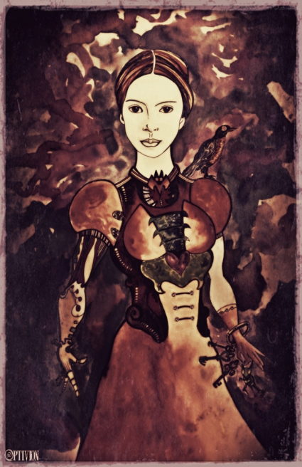 optivion - emily dickinson #steampunk print