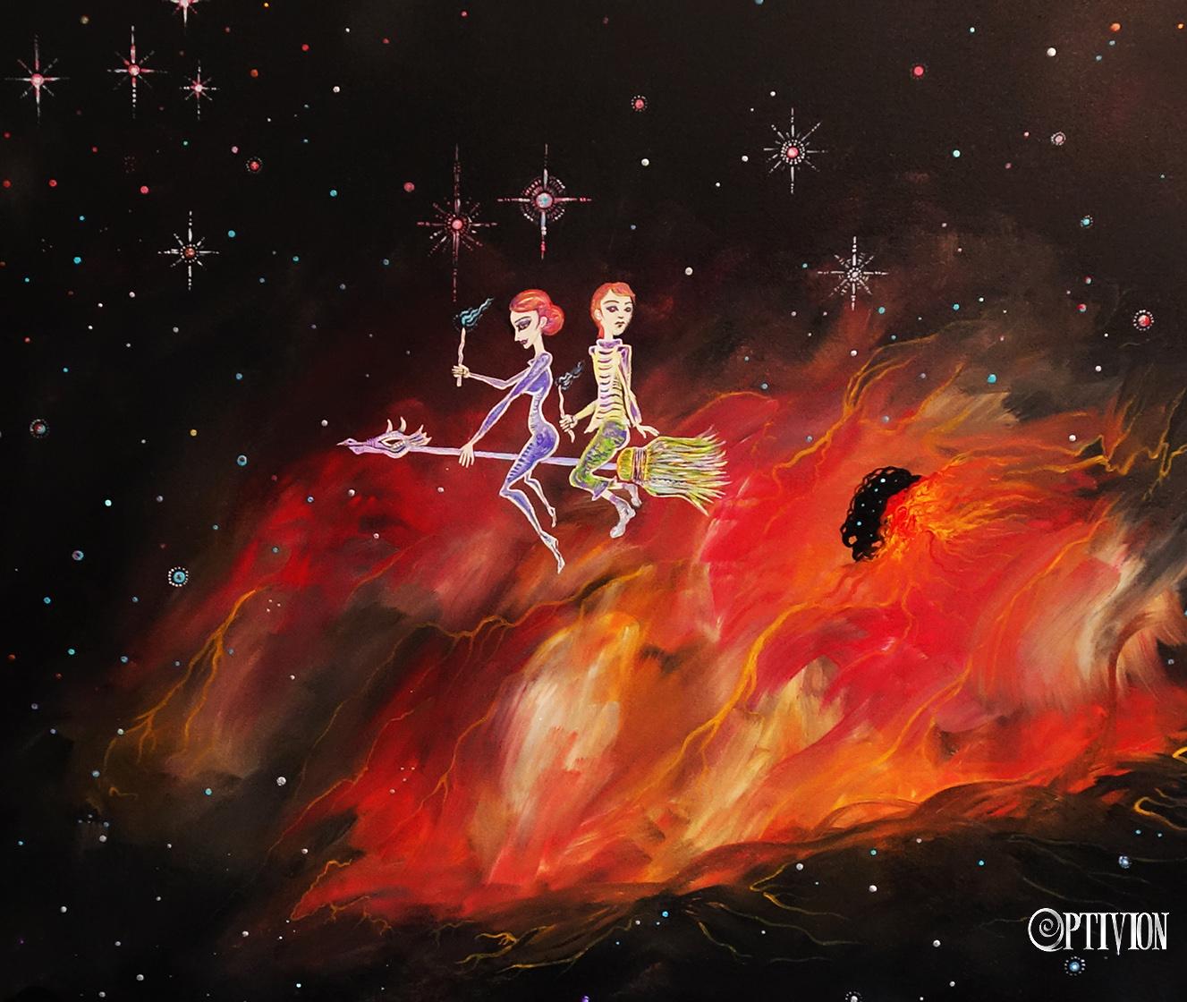Bonding Through The Nebula by OptivioN