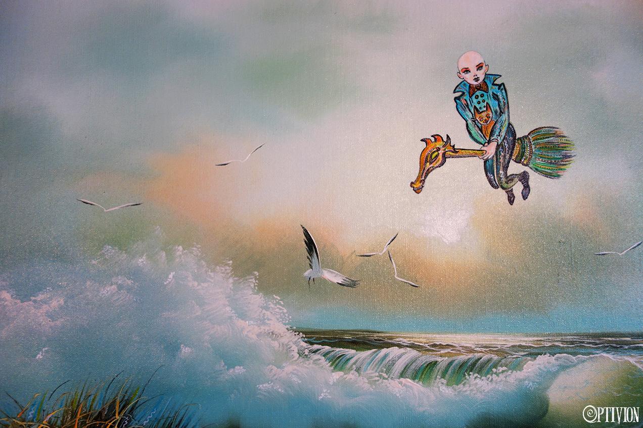 OptivioN - Arriving On High Tide ART (witch)